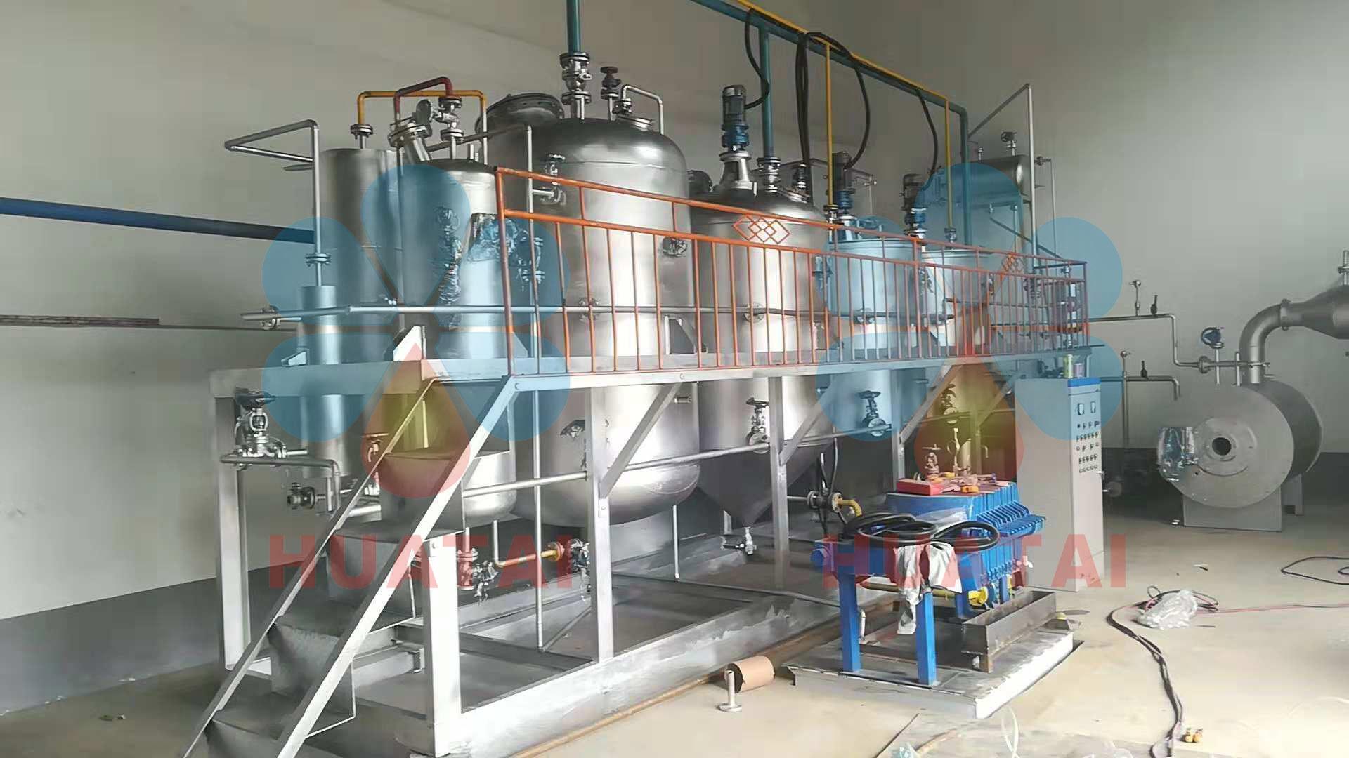 Raffinerie à petite échelle